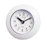Saunové hodiny JVD basic SH33.1 kulaté bílé 157493