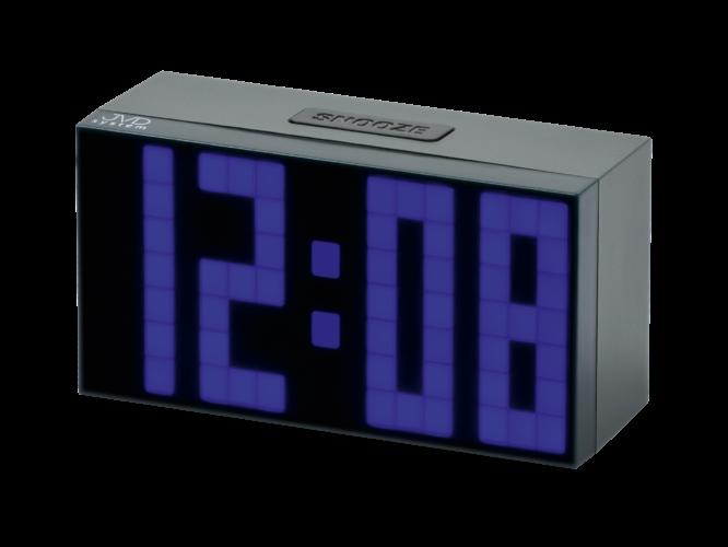 Hodiny na zeď Digitální budík JVD SB2083.1 157717 Designové hodiny