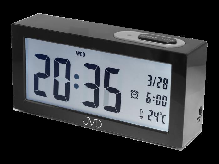 Hodiny na zeď Digitální budík JVD SB138.1 157962 Designové hodiny