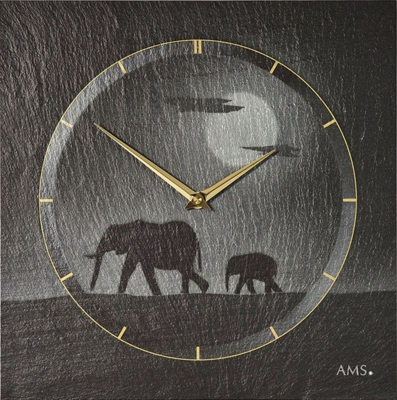 Hodiny na zeď Nástěnné hodiny AMS 9524 157917 Designové hodiny