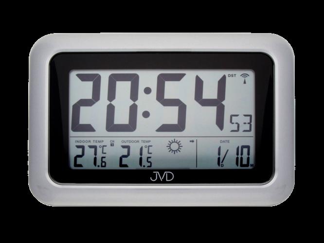 Rádiem řízené digitální hodiny s budíkem JVD RB36.2 157893