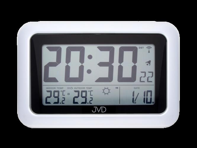 Rádiem řízené digitální hodiny s budíkem JVD RB36.1 157894