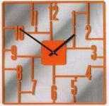 Hodiny na zeď Designové hodiny D&D 270 Meridiana 41cm Meridiana barvy kov černý lak 160736 Designové hodiny