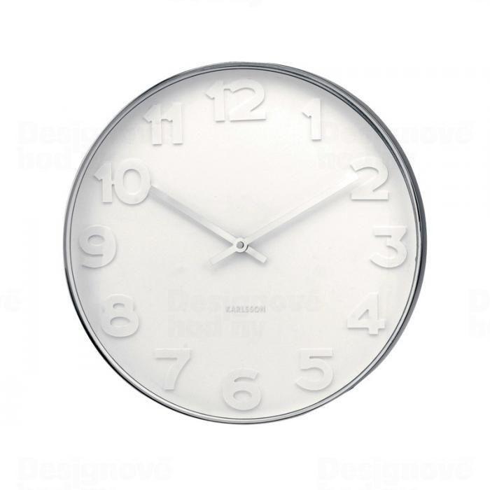 Designové nástěnné hodiny 4381 Karlsson 51cm 160672