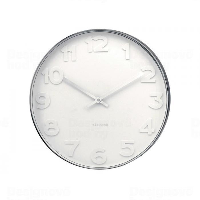 Hodiny na zeď Designové nástěnné hodiny 4383 Karlsson 38cm 160671 Designové hodiny