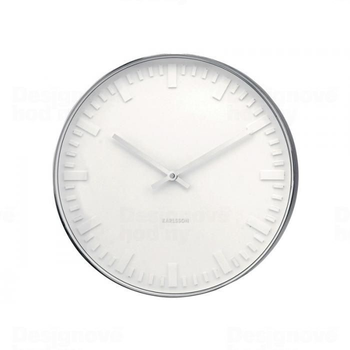 Designové nástěnné hodiny 4384 Karlsson 38cm 160670