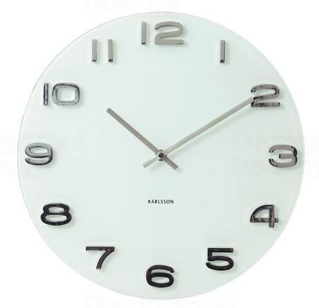 Designové nástěnné hodiny 4402 Karlsson 35cm 160700