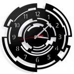 Designové nástěnné hodiny Callisto 40cm (více barev) Barva tmavě šedá 160715