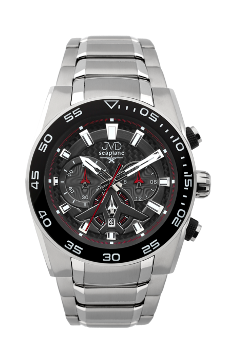 Hodiny na zeď Náramkové hodinky JVD seaplane W49.3 160543 Designové hodiny