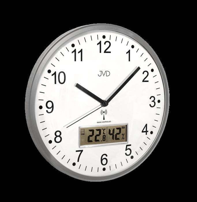 Rádiem řízené nástěnné hodiny JVD RH78.1 160505