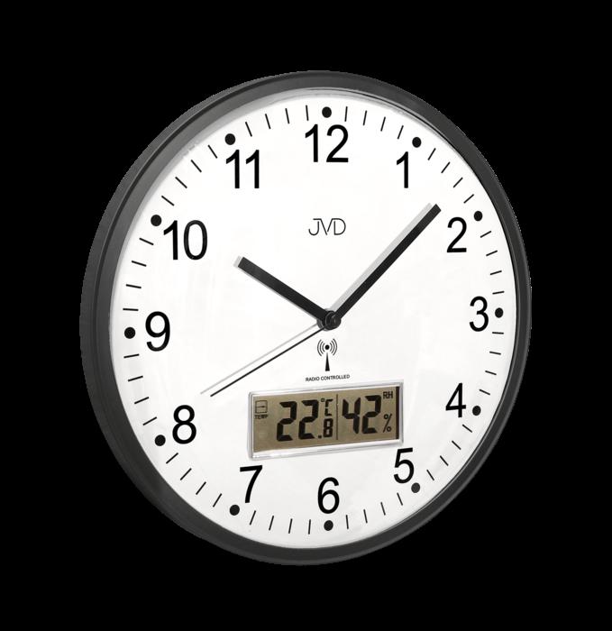 Rádiem řízené nástěnné hodiny JVD RH78.2 160504