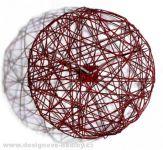 Designové hodiny Diamantini a Domeniconi Ci Vediamo red 50cm 160946