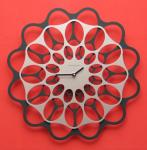 Designové hodiny Diamantini&Domeniconi antracit/aluminium 40cm 160878