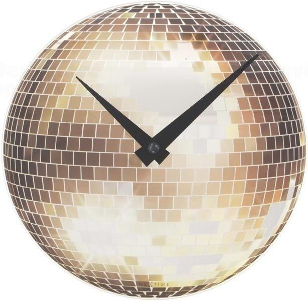 NeXtime Designové nástěnné hodiny 5172 Nextime Disco 20cm 160823