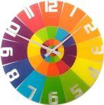 Designové nástěnné hodiny 8129 Nextime Rainbow 43cm 160875