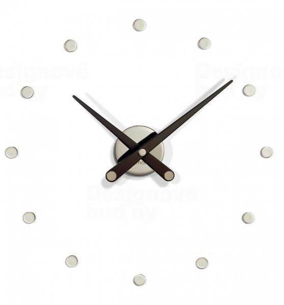 Designové nástěnné hodiny Nomon RODON Mini black 50cm 160799