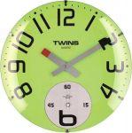 Nástěnné hodiny Twins 363 green 35cm 160895