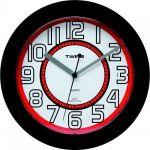 Nástěnné hodiny Twins 406 black 23cm 160889