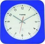 Nástěnné hodiny Twins 5078 blue 30cm 160870