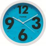 Nástěnné hodiny Twins 903 blue 26cm 160887