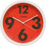Nástěnné hodiny Twins 903 red 26cm 160864