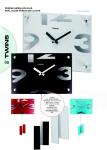 Nástěnné kyvadlové hodiny Twins 5090 white 30cm 160915 Hodiny