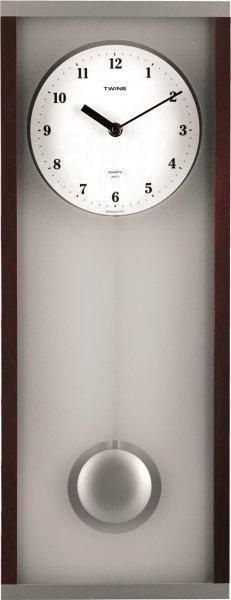 Nástěnné kyvadlové hodiny Twins 8031 67cm 160914