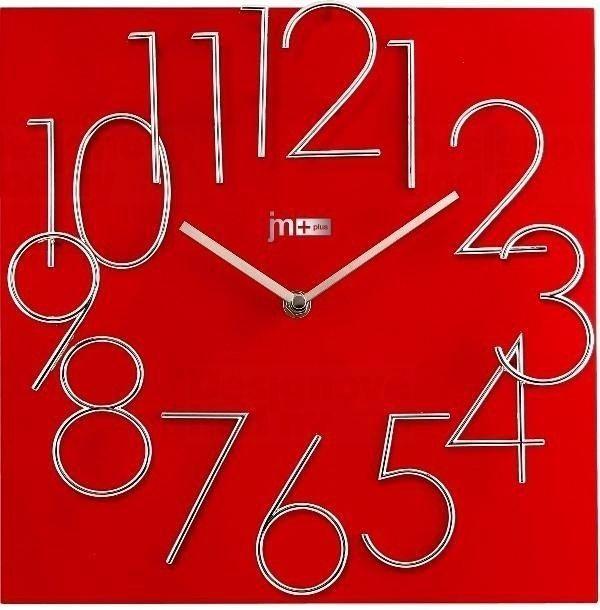 Lowell Italy Designové nástěnné hodiny 14535R Lowell 30cm 161103