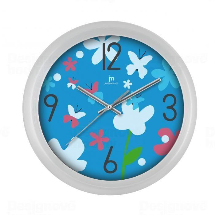 Lowell Italy Designové nástěnné hodiny Lowell 00960-CFA Clocks 28cm 161112