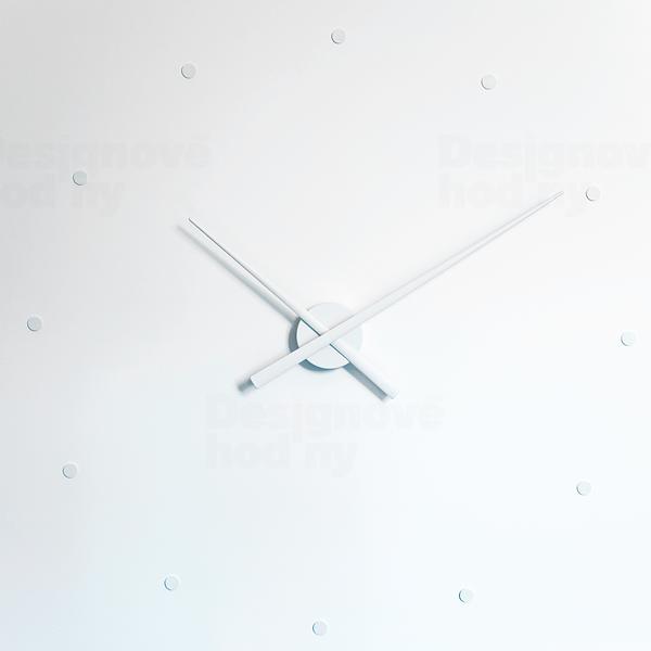 Nomon Designové nástěnné hodiny NOMON OJ bílé 80cm 160967