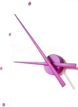 Nomon Designové nástěnné hodiny NOMON OJ fialové 80cm 160965