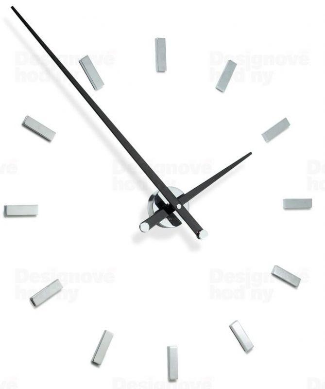 Designové nástěnné hodiny Nomon TACON 12L black 100cm 160960