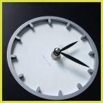Designové nástěnné hodiny 1200 Calleadesign 26cm (20 barev) Barva tmavě hnědá 161203 Hodiny
