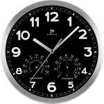Designové nástěnné hodiny 14931N Lowell 30cm kulaté černé  161118