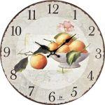 Designové nástěnné hodiny 21423 Lowell 34cm 161139