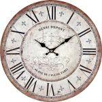 Designové nástěnné hodiny 21432 Lowell  34cm 161136
