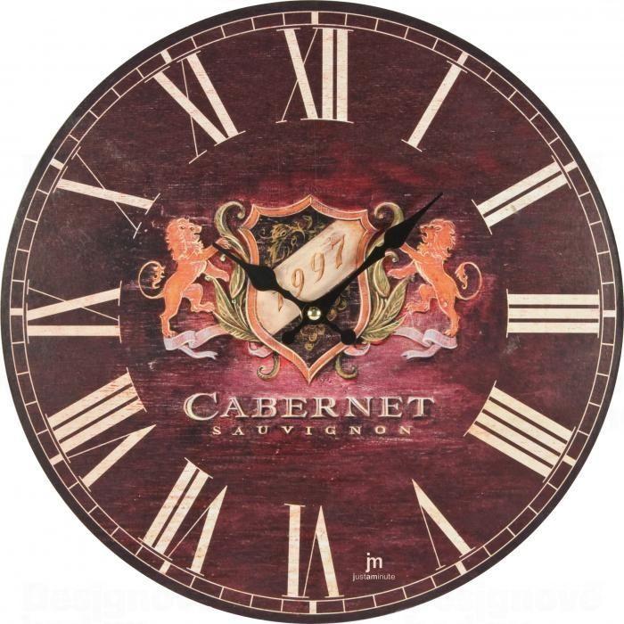 Lowell Italy Designové nástěnné hodiny Lowell 21428 Clocks 34cm 161138