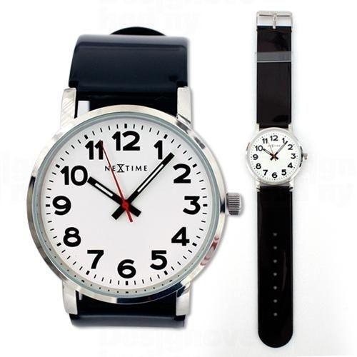 NeXtime Designové hodinky 6006 Nextime Station 161361