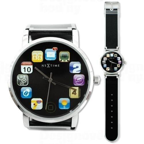 NeXtime Designové hodinky 6010 Nextime Wristpad 161360