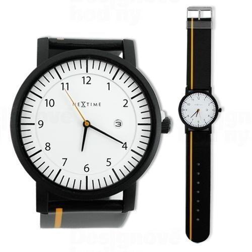 NeXtime Designové hodinky 6014 Nextime Quick 161359