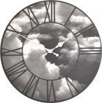 Designové nástěnné hodiny 3037 Nextime Clouds 39cm 161323