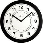 Designové nástěnné hodiny 3045zw Nextime Super slim 28cm 161326