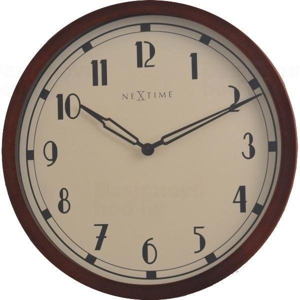 NeXtime Designové nástěnné hodiny 3055 Nextime Royal 34cm 161335