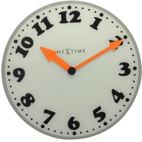 Hodiny na zeď Designové nástěnné hodiny 8152 Nextime Girl 43cm 161346 Designové hodiny