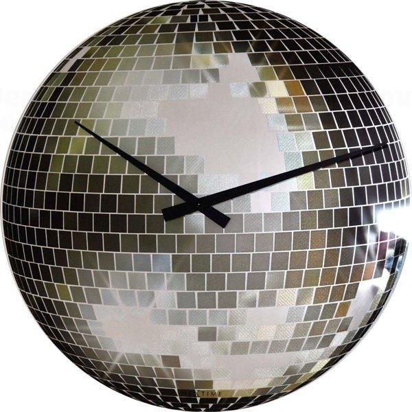 NeXtime Designové nástěnné hodiny 8801 Nextime Disco 30cm 161344