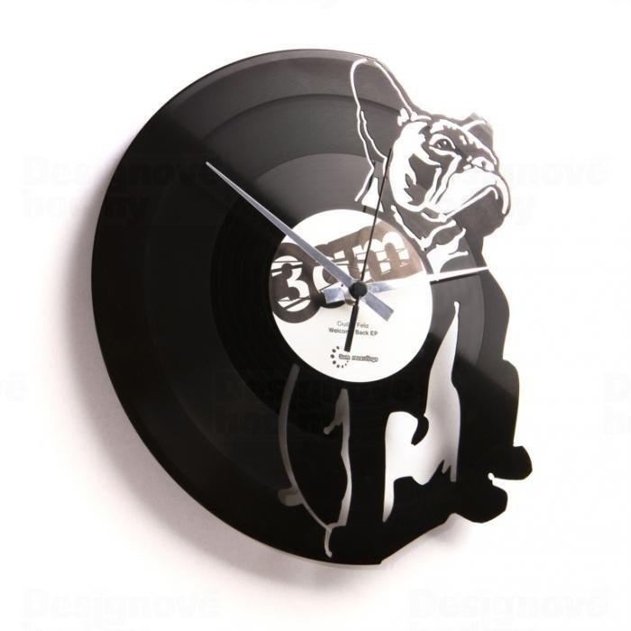Designové nástěnné hodiny Discoclock 038 Hugo 30cm 161408 Hodiny