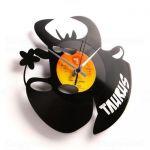 Designové nástěnné hodiny Discoclock Z02 Býk 30cm 161418