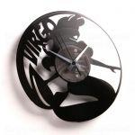 Designové nástěnné hodiny Discoclock Z06 Panna 30cm 161422