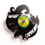 Designové nástěnné hodiny Discoclock Z10 Kozoroh 30cm 161426