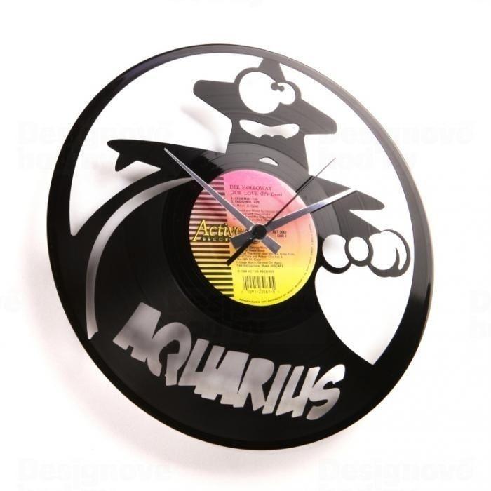 Designové nástěnné hodiny Discoclock Z11 Vodnář 30cm 161427 Hodinářství